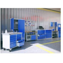 Stół warsztatowy slusarki metalowy STW 111 wąski 60cm