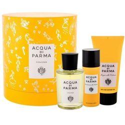 Acqua di Parma Colonia zestaw Edc 100 ml + Żel pod prysznic 75 ml + Dezodorant 50 ml unisex