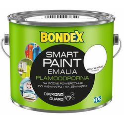 Emalia akrylowa Bondex Smart Paint bielszy niż myślisz 2,5 l