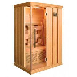 TRENDY Sauna na podczerwień 2 osobowa 123x103x190 cm H30380 103 x 190cm, 2os