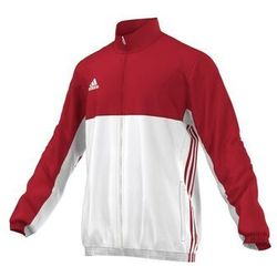 ADIDAS BLUZA ROZPINANA MĘSKA T16 TEAM RED-WHITE, KOLOR: RED - WHITE, ROZMIAR: L