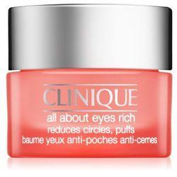 Clinique All About Eyes nawilżający krem pod oczy przeciw obrzękom i cieniom (Rich Cream) 15 ml