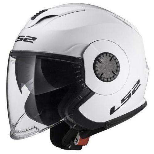 Kaski motocyklowe, KASK LS2 OF570 VERSO SOLID WHITE