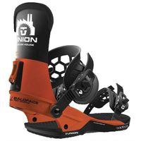 Wiązania snowboardowe, wiązania UNION - Baldface (International) Orange Black (ORANGE BLACK) rozmiar: M