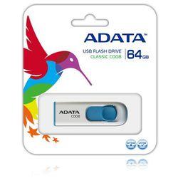 Pendrive A-Data C008 64GB Biały Darmowy odbiór w 19 miastach!