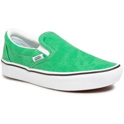 Tenisówki VANS - Comfycush Slip-On VN0A3WMDWYC1 (Washed Canvas)Fern Green
