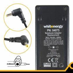 Zasilacz do notebooka Whitenergy 18.5V/3.8A 70W wtyczka 4.8x1.7mm Compaq (04075) Darmowy odbiór w 16 miastach!