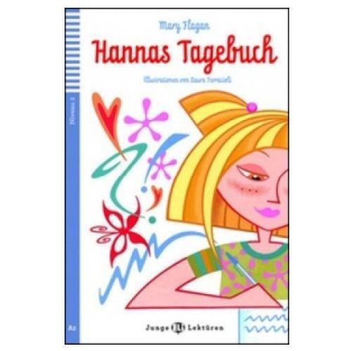 Książki do nauki języka, Junge ELI Lekturen - Hannas Tagebuch + CD Audio (opr. miękka)