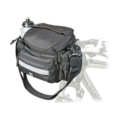 Sakwy, torby i plecaki rowerowe, Wyprzedaż Torba na kierownicę Author A-H740N czarna 25.4-31.8 mm
