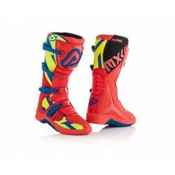 Acerbis Buty X-Team czerwono - niebiesko - żółty