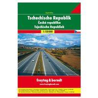 Mapy i atlasy turystyczne, Czechy atlas 1:150 000 Freytag & Berndt (opr. miękka)