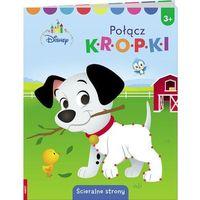 Książki dla dzieci, Disney Maluch Połącz kropki - Praca zbiorowa (opr. broszurowa)