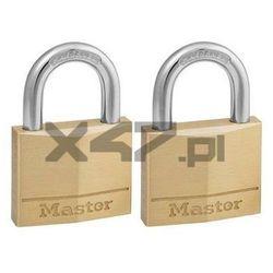 150EURT Zestaw dwóch kłódek otwieranych jednym kluczem Master Lock