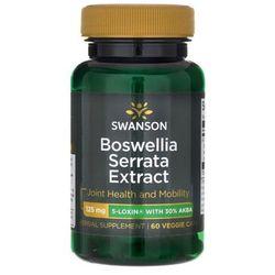 Boswellia Serrata ekstrakt standaryzowany 5-LOXIN Boswellia Serrata extract 60 kapsułek SWANSON