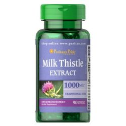 Puritan's Pride Ostropest Plamisty (Milk Thistle Extract) 1000 mg 90 kaps.