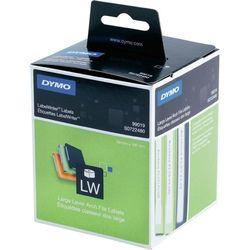 Etykiety do drukarek etykiet DYMO S0722480, 59 x 190 mm, Etykiety do folderów, biały