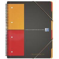 Zeszyty, Kołonotatnik Oxford International Organiserbook A4+ 80 kartek kratka
