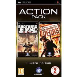 Brothers in Arms D-Day + Tom Clancy's Rainbow Six Vegas (PSP)