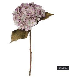 SELSEY Sztuczny kwiat Ilmur Hortensja 50 cm fioletowa