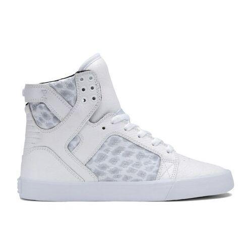 Damskie obuwie sportowe, buty SUPRA - Women-Skytop White (WHT)