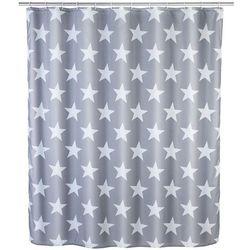 Zasłona prysznicowa Stella, tekstylna, 180x200 cm, WENKO