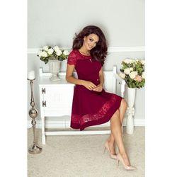 Elegancka sukienka z koronkowymi wstawkami