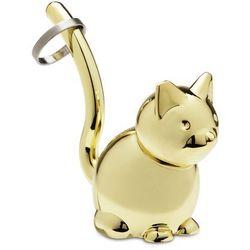 Wieszak na biżuterię Zoola Kot Brass MODERN HOUSE bogata chata