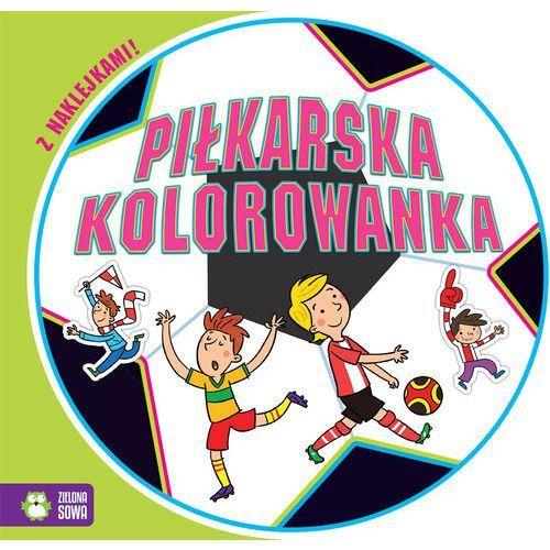 Kolorowanki, Piłkarska kolorowanka - Praca zbiorowa