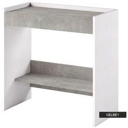 SELSEY Włoskie biurko-toaletka Lurdi rozkładana beton