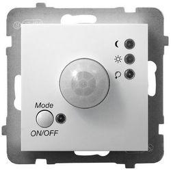 Elektroniczny czujnik ruchu Ospel Aria ŁP-16U/M/00 bez ramki biały