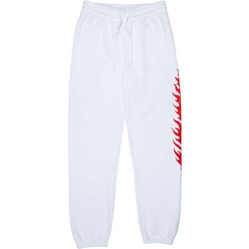 Spodnie damskie, spodnie dresowe SANTA CRUZ - Flame Dot Sweatpant White (WHITE)