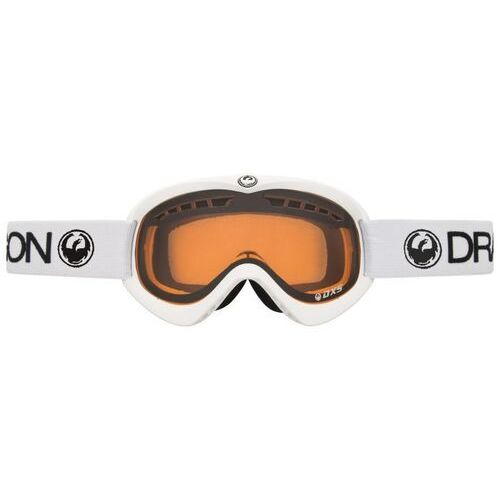 Kaski i gogle, gogle DRAGON - Dxs Powder Amber Wht (WHT) rozmiar: OS