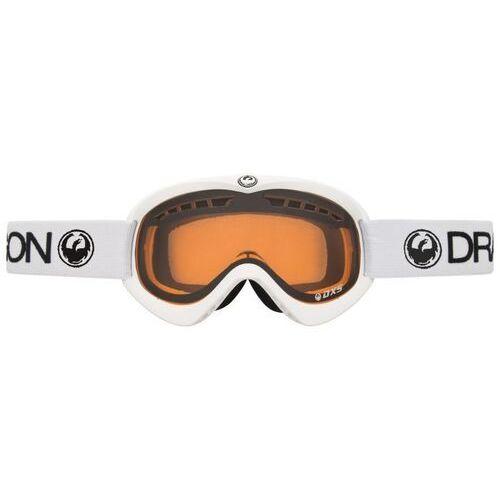 Kaski i gogle, gogle snowboardowe DRAGON - Dxs Powder Amber Powder (POWDER)