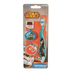 Szczoteczka do zębów z nakładką i brelokiem - Star Wars