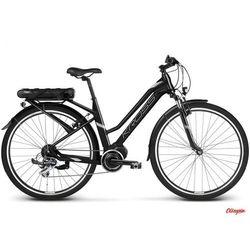 Rower elektryczny Kross Trans Hybrid 2.0 W czarny/niebieski/srebrny mat 2018