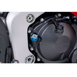 Korek wlewu oleju PUIG do motocykli Honda / Kawasaki / Ducati (niebieski)