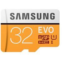 Karty pamięci, Karta MicroSD Samsung MB-MP32GA/EU EVO mSD +Adapter - MB-MP32GA/EU - MB-MP32GA/EU Darmowy odbiór w 20 miastach!