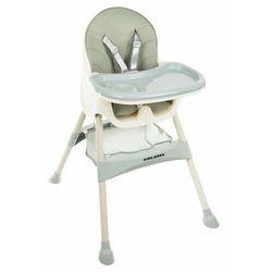 Krzesełko do karmienia 3w1 jasnozielony Taca Fotelik