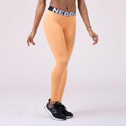 NEBBIA Legginsy damskie Squad Hero Scrunch Butt Apricot