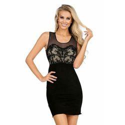 Luksusowa koszula Daniella w kolorze czarnym