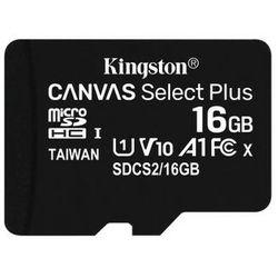KINGSTON MicroSDHC 16GB 100MB/s SDCS2/16GBSP