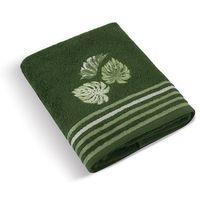 Ręczniki, Bellatex Ręcznik kąpielowy Monstera zielony, 70 x 140 cm, 70 x 140 cm