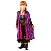 Przebrania dziecięce, Kostium Frozen 2 Anna Deluxe dla dziewczynki - Roz. S