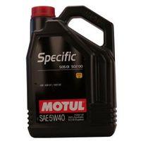 Oleje silnikowe, Motul Specific 505 01 - 502 00 - 505 00 5W-40 5 Litr Pojemnik