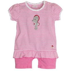 SALT AND PEPPER Baby Glück Girls Rampersy Konik wodny candy pink