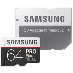 Samsung PRO Plus MB-MD64G 64GB MicroSDXC UHS-I Klasa 10 pamięć flash
