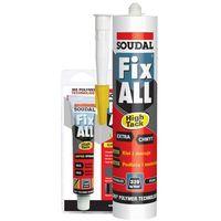 Kleje budowlane, Soudal Klej uszczelniający Fix All HIGH TACK 290 ml
