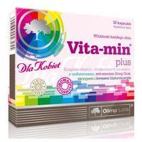 Witaminy i minerały, Vita Min Plus dla kobiet 30 kaps.