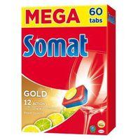 Kostki do zmywarek, Tabletki SOMAT do zmywarek Gold Lemon 60 szt