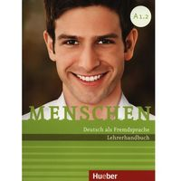 Książki do nauki języka, Menschen A1/2 Lehrerhandbuch (opr. miękka)